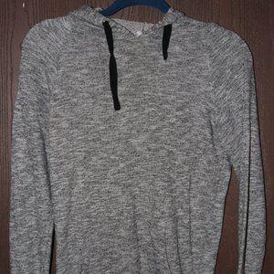 4/$20**Charcoal grey hoodie